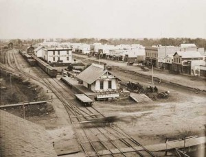 1880 Facing east from Headquarters Hotel image