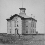 First Cass County Courthouse, 1876