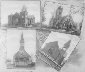 Churches of Fargo North Dakota and the Diversity of Religion, 1890-1910