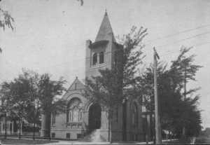 The First Methodist Church, 1909