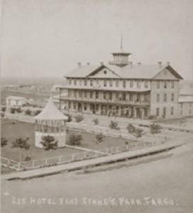 Headquarters Hotel circa 1875 image