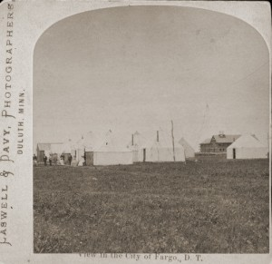 Tent City, early Fargo