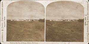 1871 Fargo Tent City image
