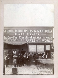 St. Paul, Minneapolis & Manitoba Rail Road ticket office, Fargo, ND
